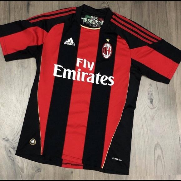 Hacer bien Impuro Emigrar  adidas Shirts | Adidas Fly Emirates Ac Milan Jersey | Poshmark